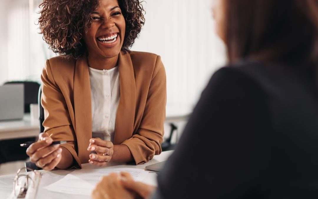 Two women working together and learning how to know when to fire a client.