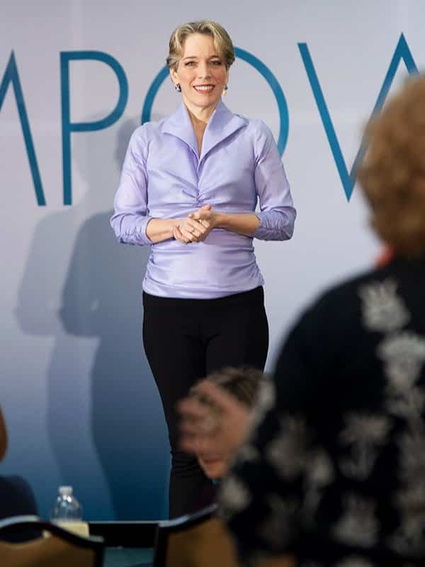 Pamela on Stage at Empower
